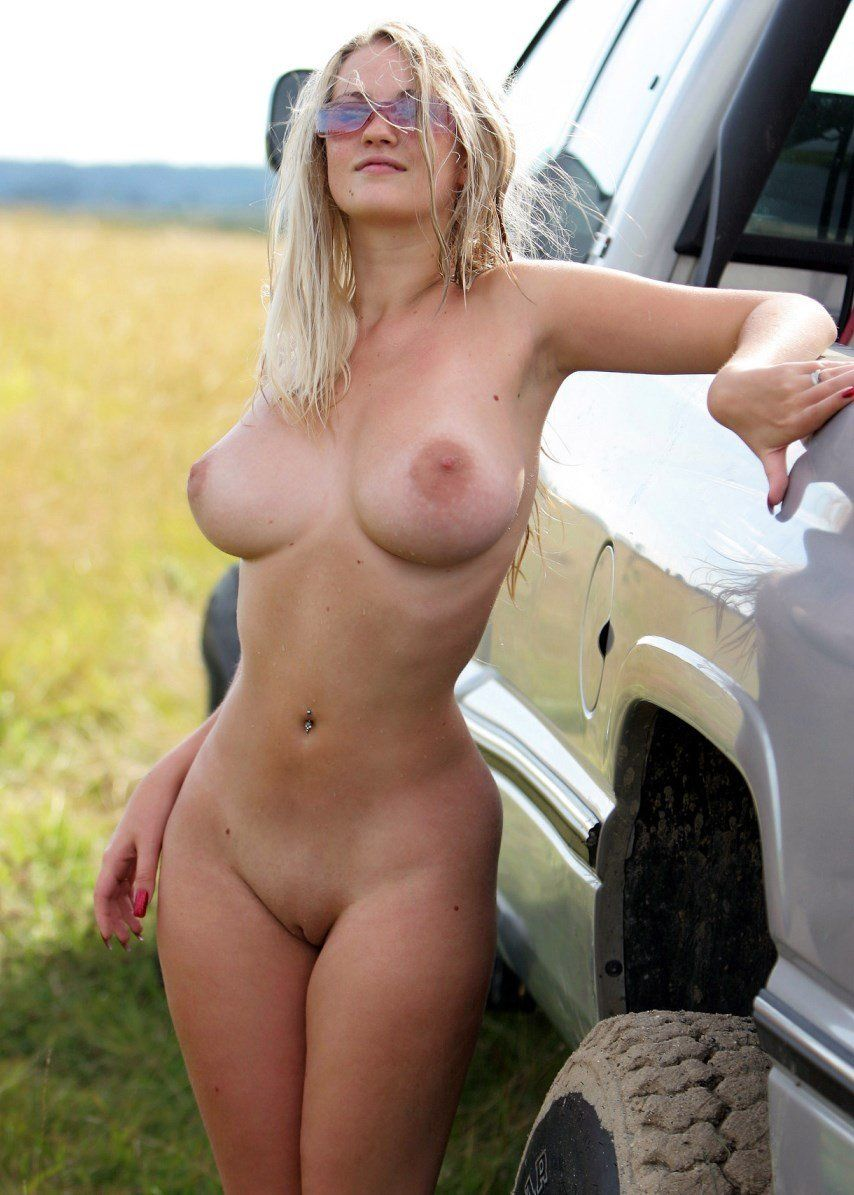 Remarkable, rather hot girls naked with big trucks necessary