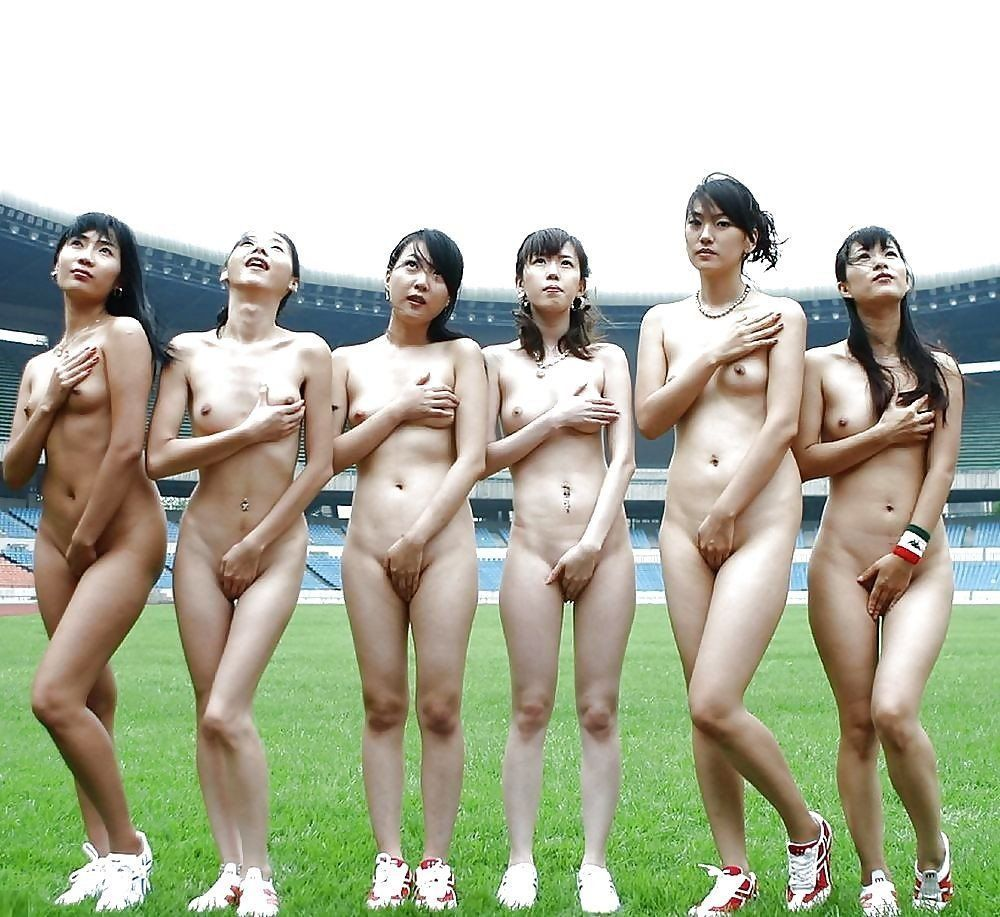 Japanese group nude
