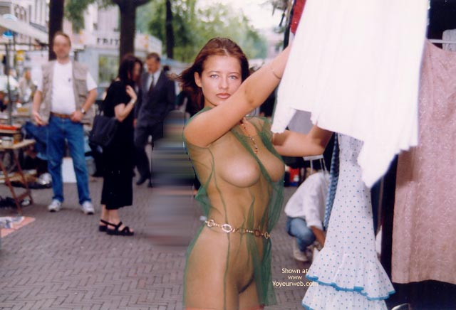 Are big tits naked public