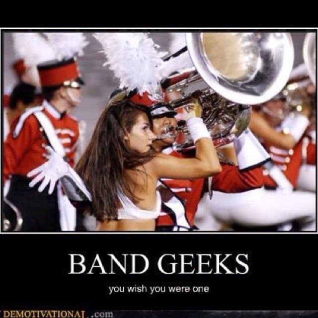 Apologise, but, band nerds fucking for