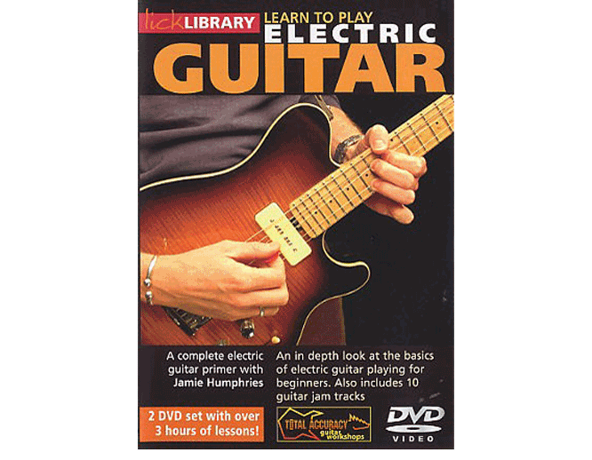 Fourth D. reccomend Lick library electric guitar