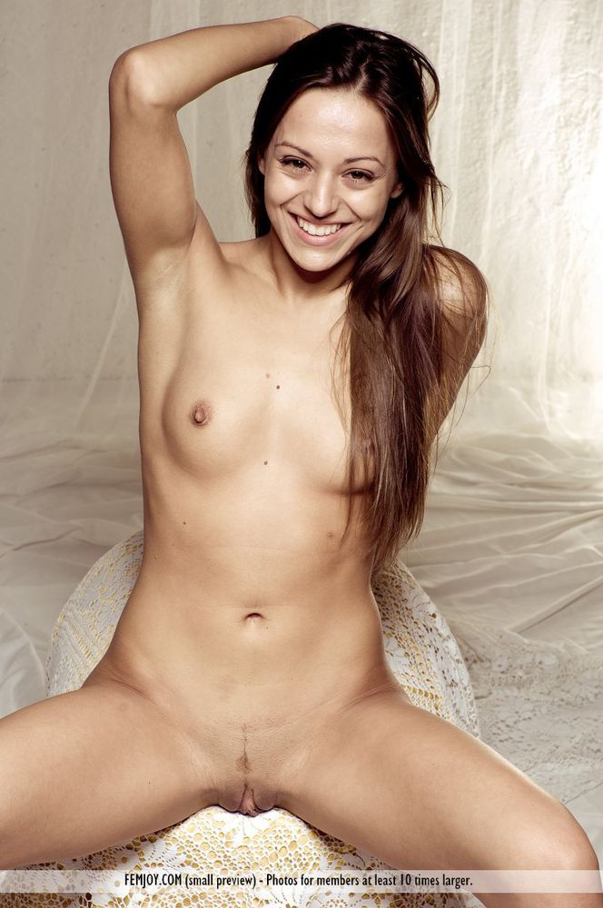 Sexy small boobs nude