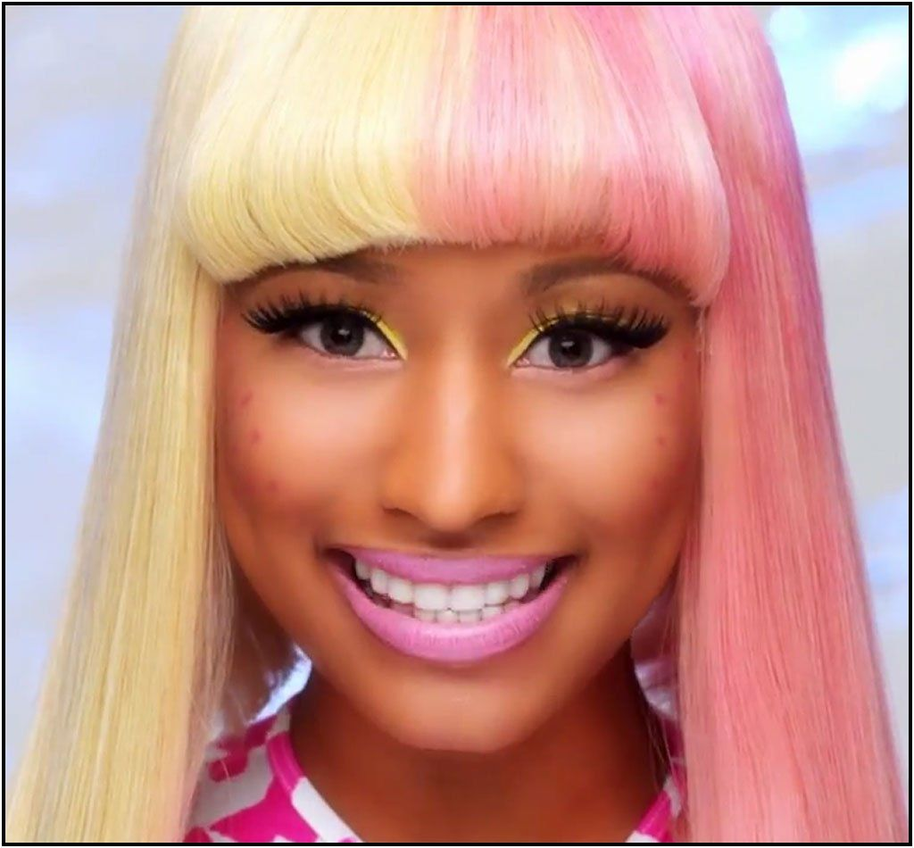 JK reccomend Nicki minaj eye color