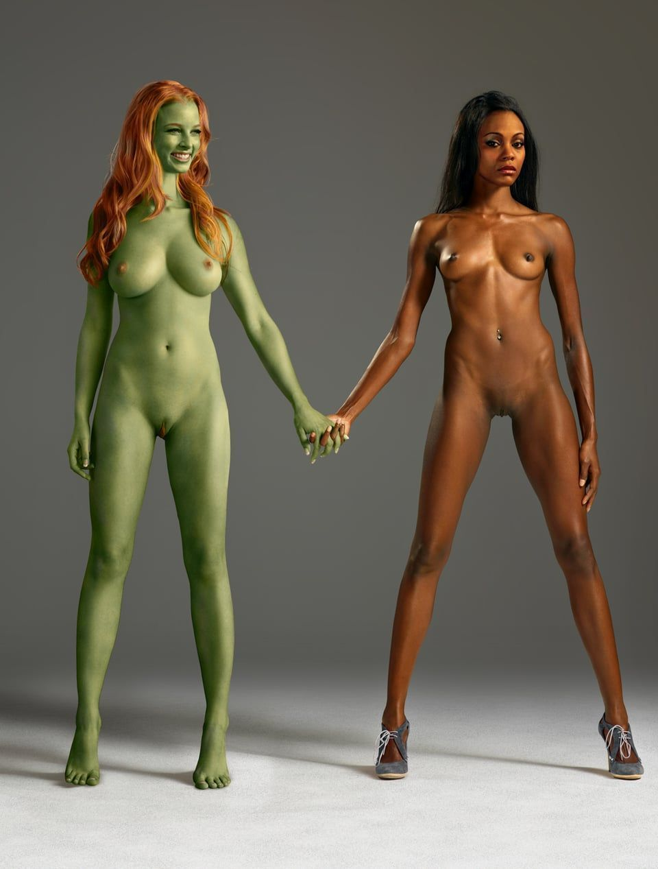 Cartoon naked hot girls