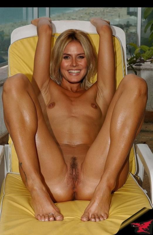 Nude photo klum heidi risk seem the