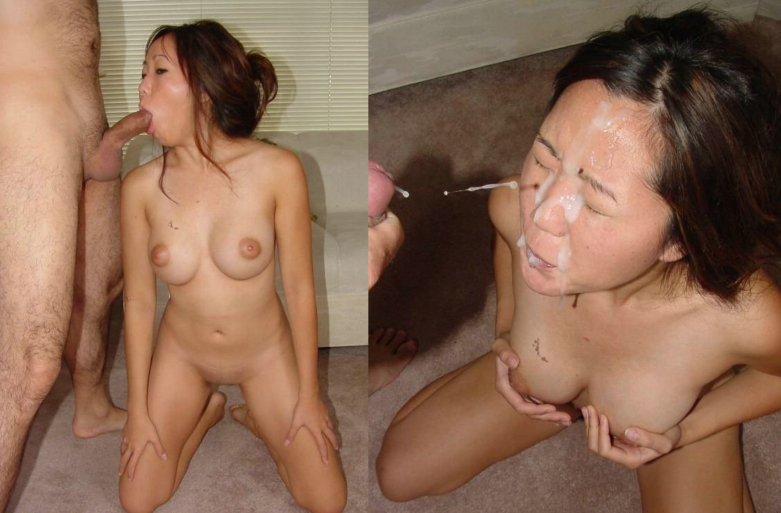 Asian wife bukakke