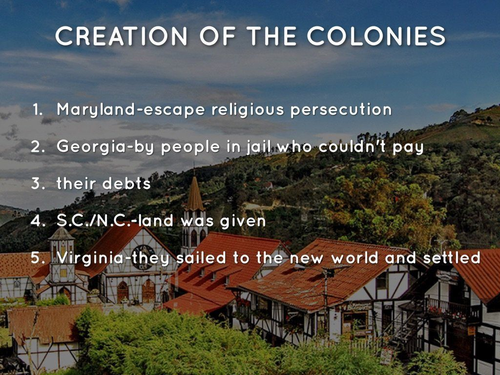 best of Colonies southern Fun about facts