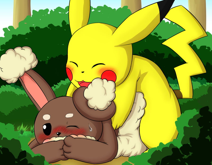 best of Pikachu and buneary hentai Pokemon