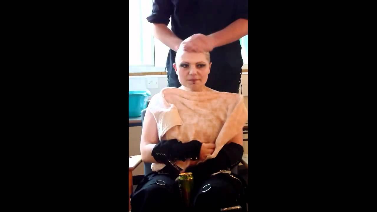 Nude women in bleach
