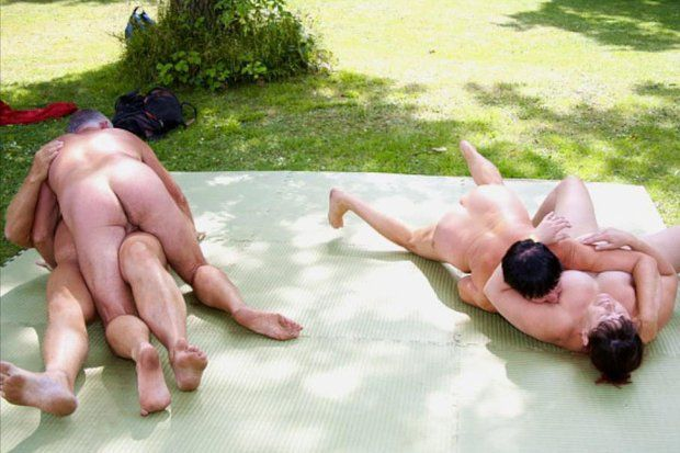 Nudist camping network