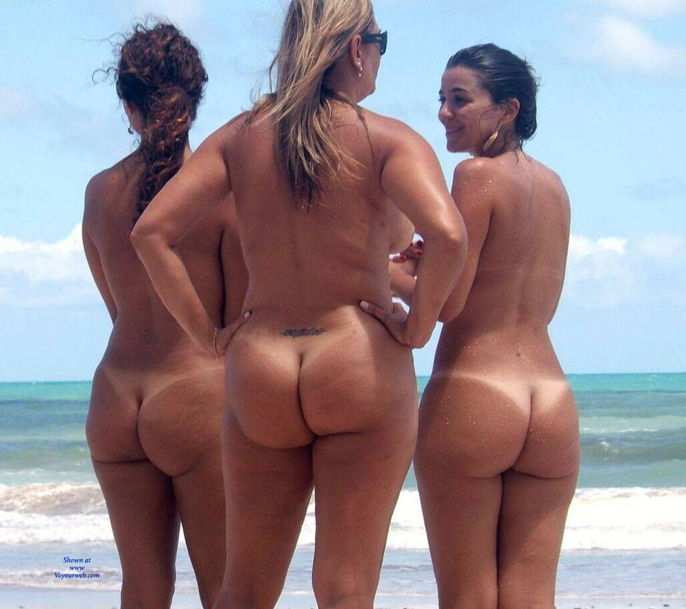 best of Brazil women Beautiful the nude beach in