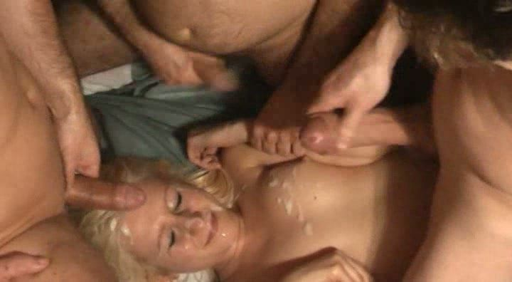 Asian babe is double penetrated