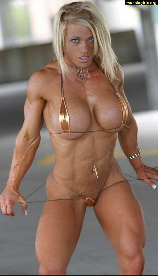 Ready help behind nude female muscle whom can
