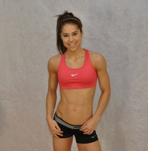 Snow W. reccomend Teen women with abs