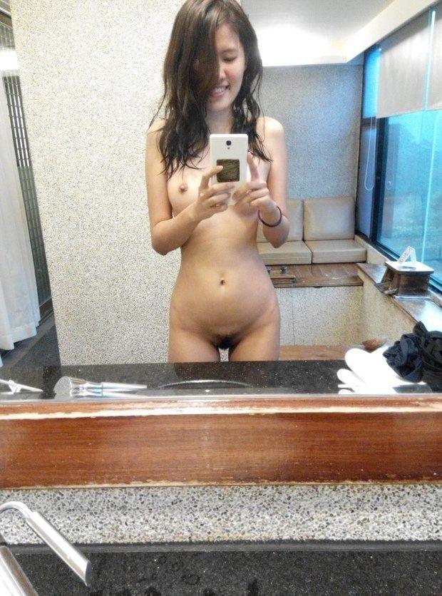 Slim naked asian teens