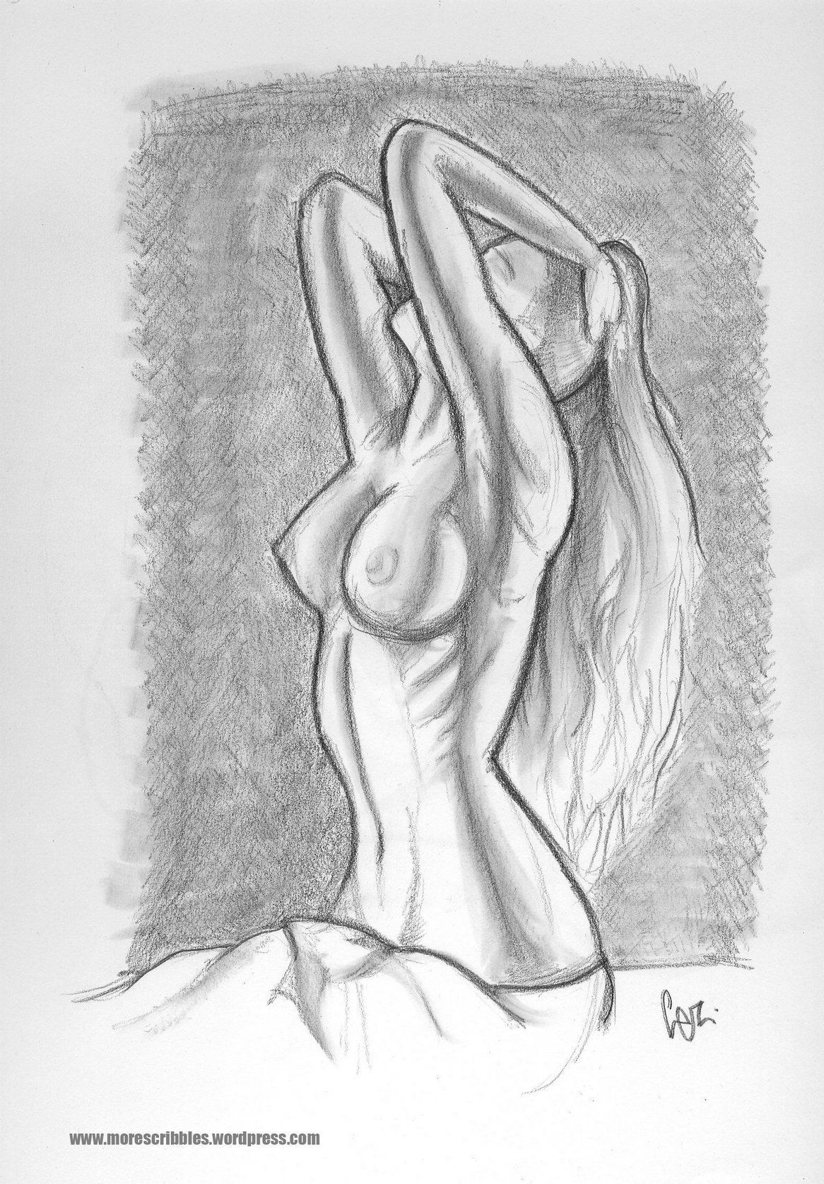 Sexy nude women sketch