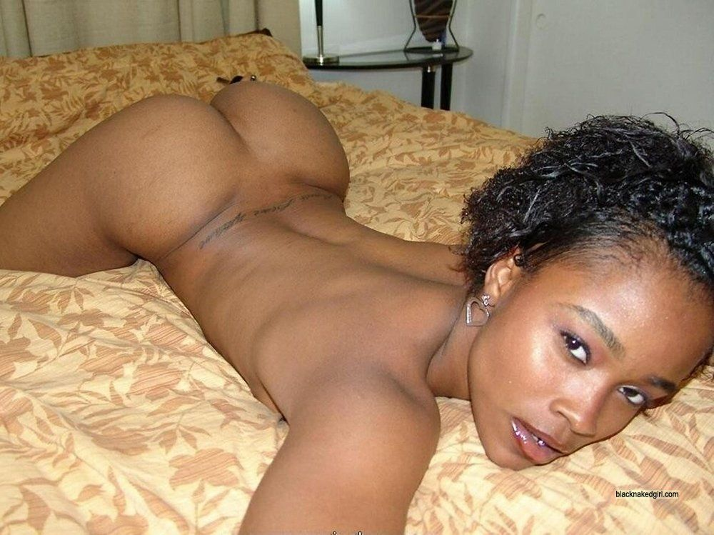 Horny black girl