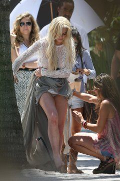 Casually come with lohan upskirt lindsay are absolutely