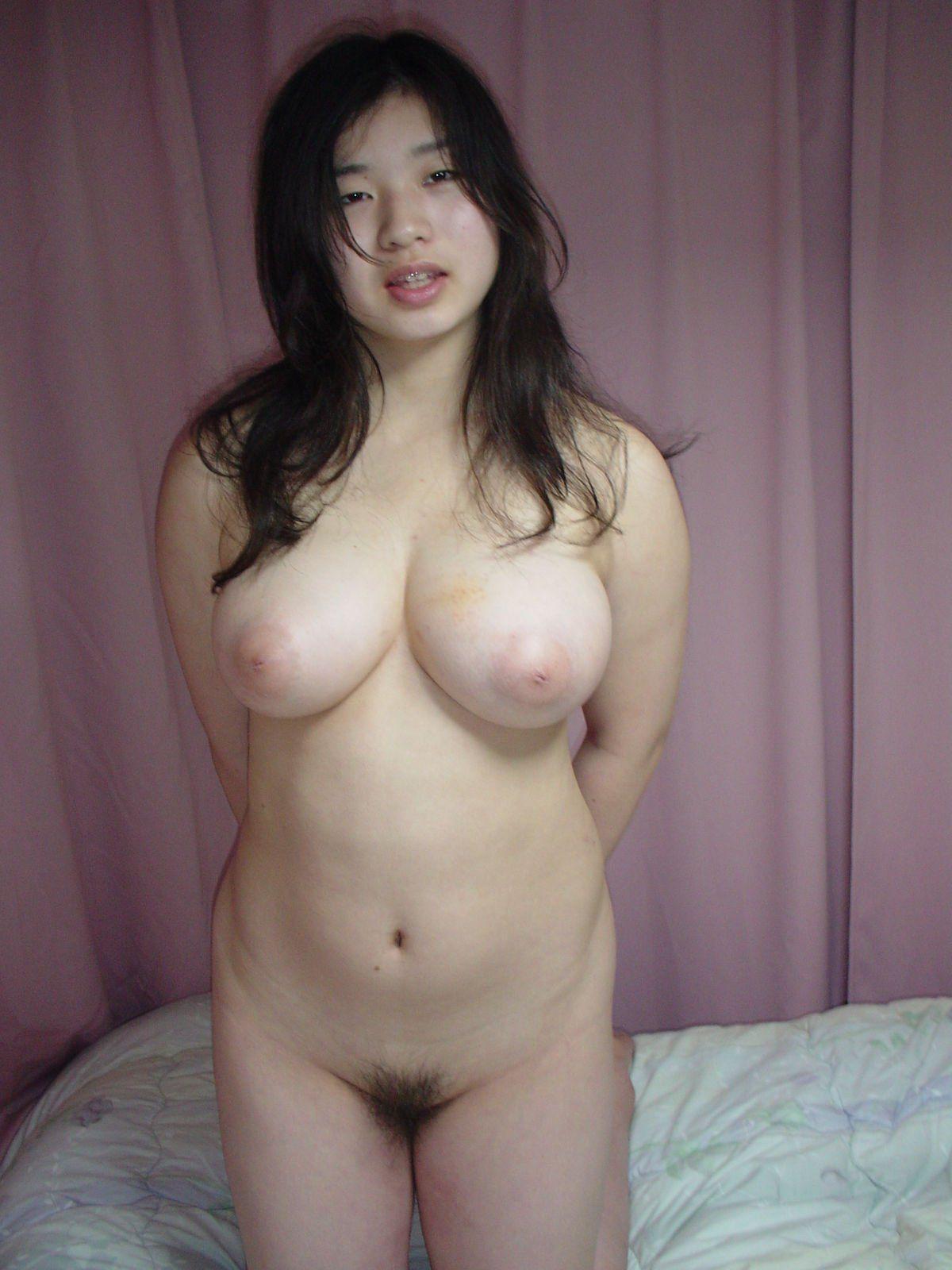 Chubby japanese naked