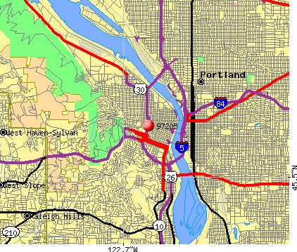 Portland oregon postal code