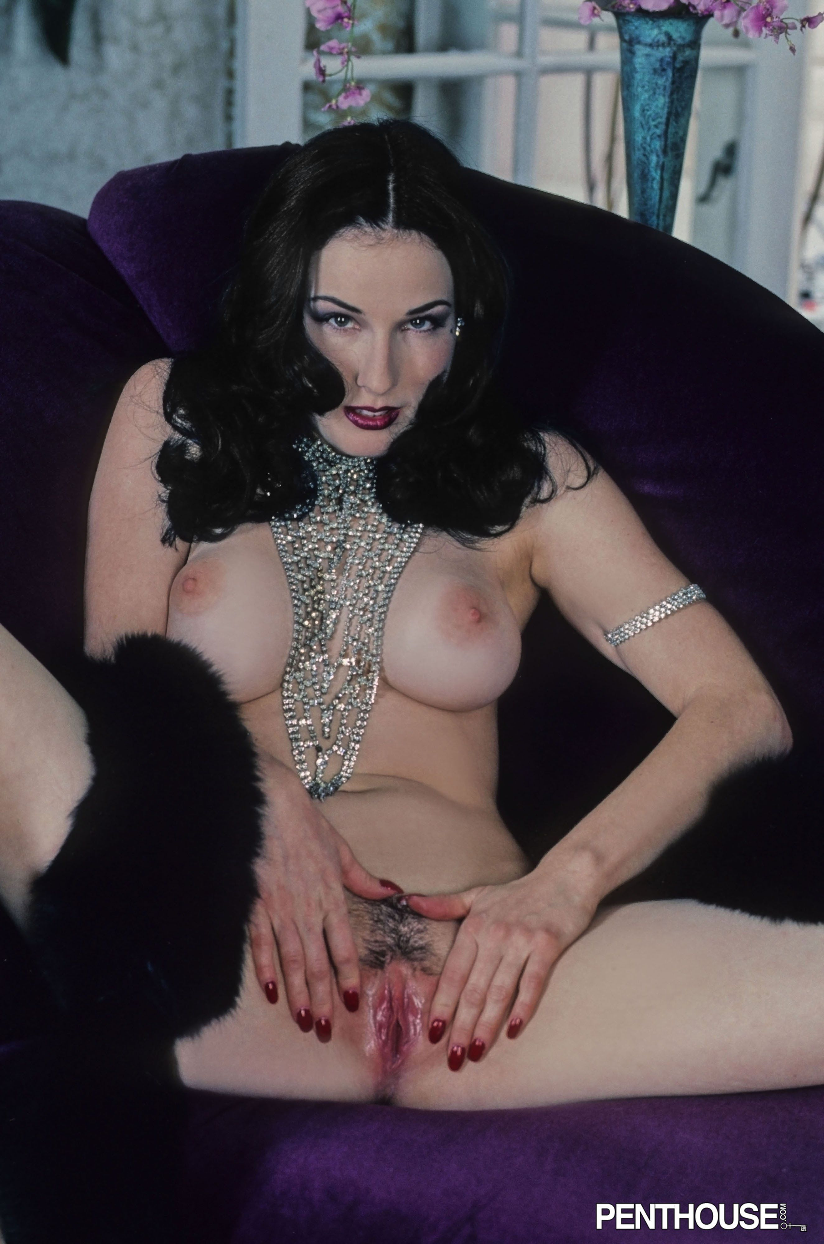 Dita von teese completely naked naked photo
