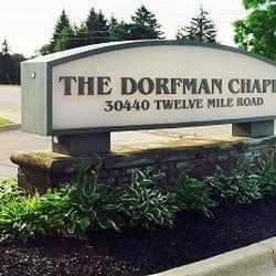 Dorfman funeral home mi