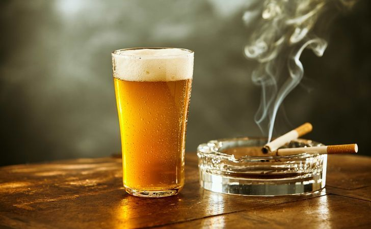 Chardonnay reccomend Drinking beer and smoking cigarettes