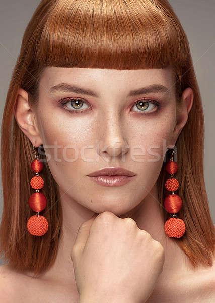 Jupiter reccomend European glamour photo redhead