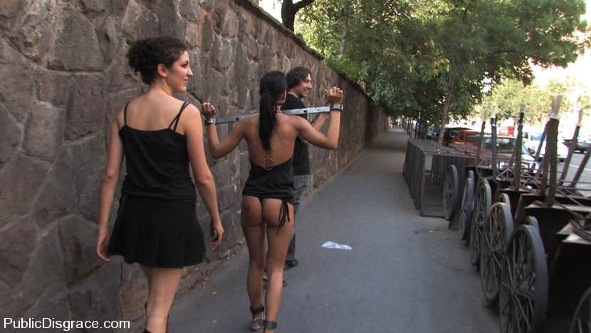 best of Public Girls bondage in