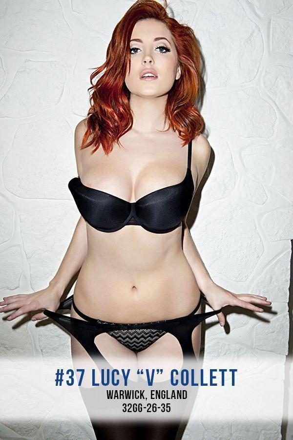 European glamour photo redhead