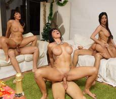 Euro porn orgy