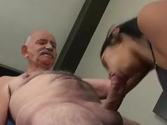 Grandads big old cock something