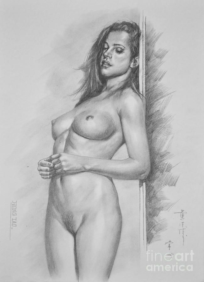 Bad ass nude sketches