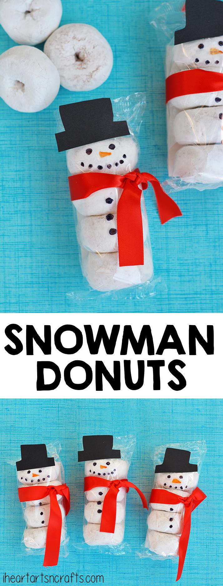Goose reccomend Family fun doughnut snowman