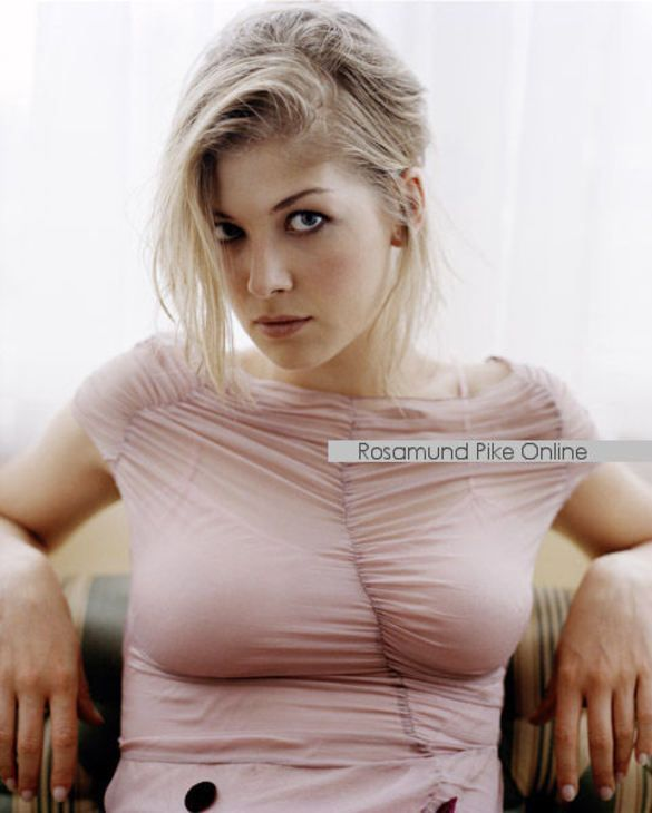 Can suggest rosamund pike bare nude gradually. The