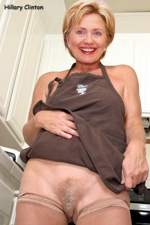 Hillary Clinton sexy naked