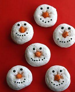 Batgirl reccomend Family fun doughnut snowman