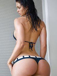 Fat butt bikini
