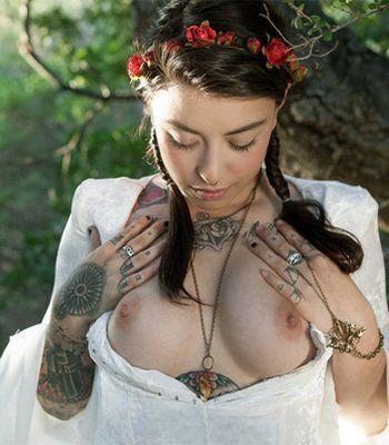 Herald reccomend Suicide girl button nude