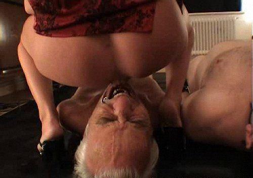 Naked girl licking her fingers