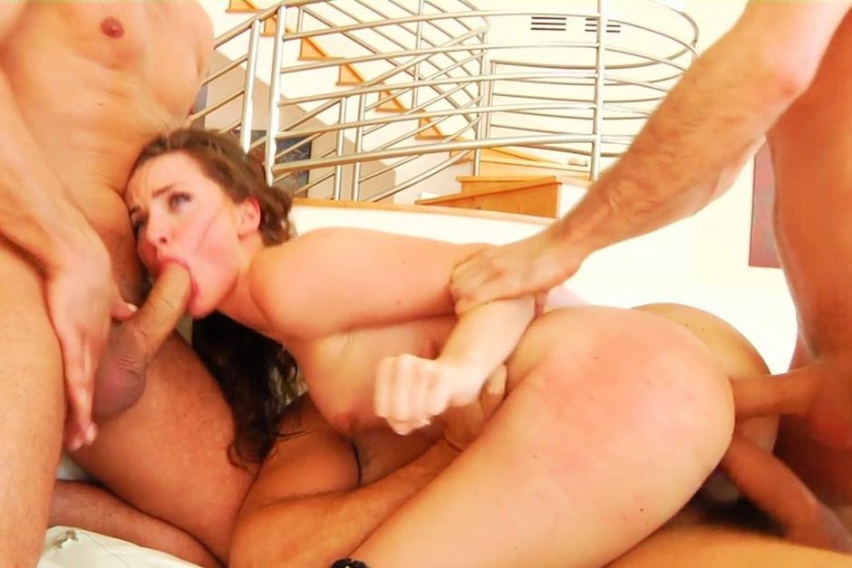 The wheelbarrow sex position