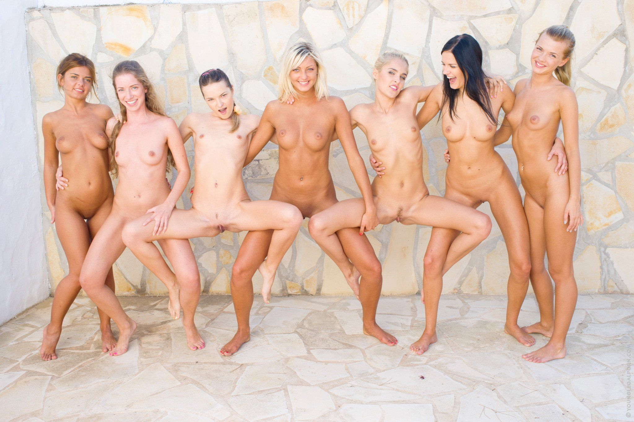 Best of 18 Year Orgy