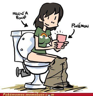 best of And Girl pokemon pee poop