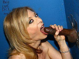Charming glory hole nina hartly with