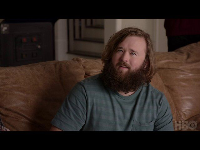 Haley joel osment with facial hair
