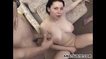 Homemade young coed gangbang porn
