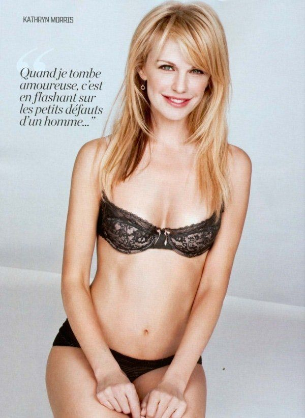 Know one kathryn morris ever been topless remarkable, rather