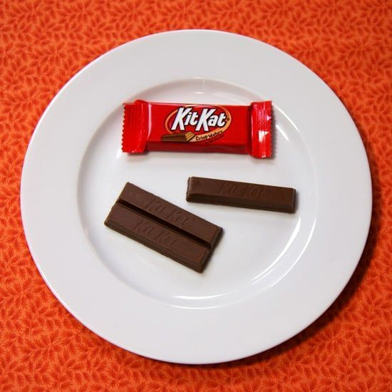 Winger reccomend Kitkat fun size