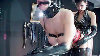 Jabari recommend best of lesbian bondage latex