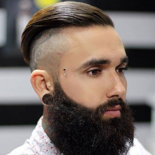best of Shaved sides Long hair with